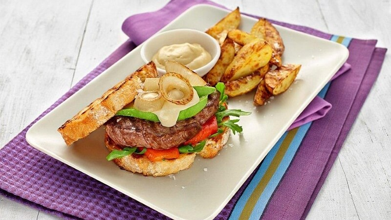 Scrumptious Steak Sandwich