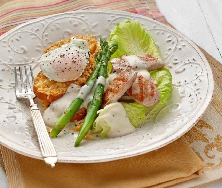 Seared Tuna Caesar Salad